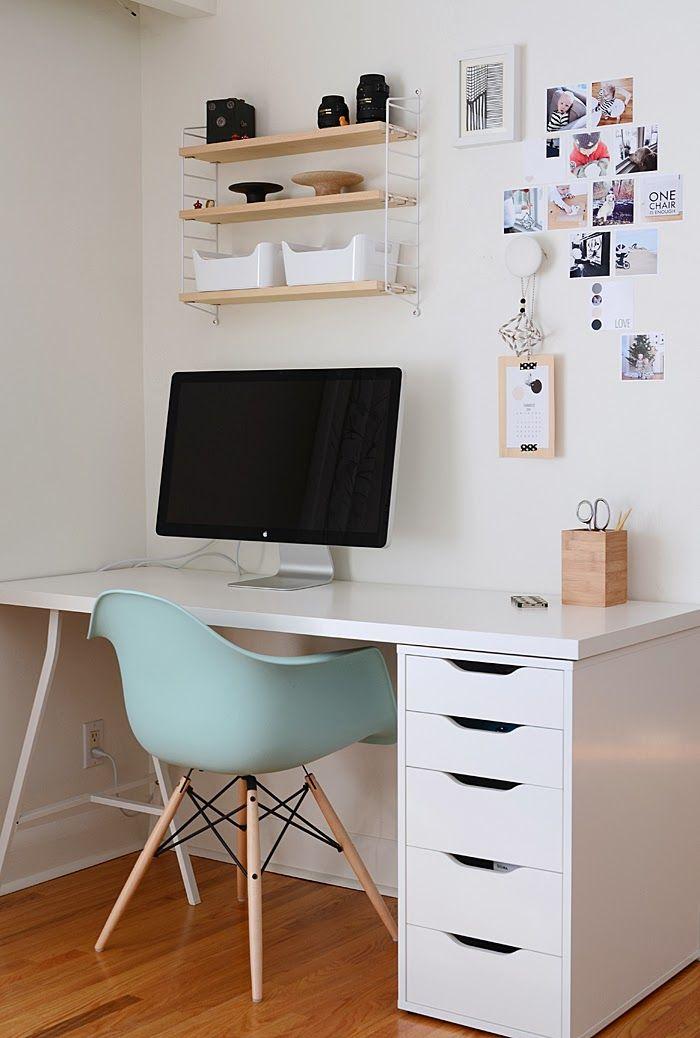 Рабочее место в маленькой квартире фото 3
