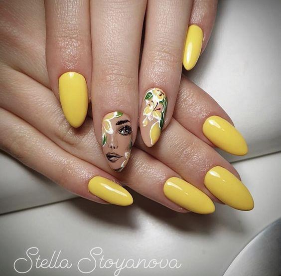 Девушка на ногтях фото 172