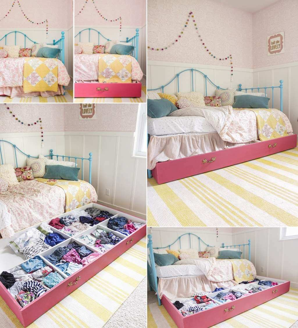 хранение вещей в спальне фото 1