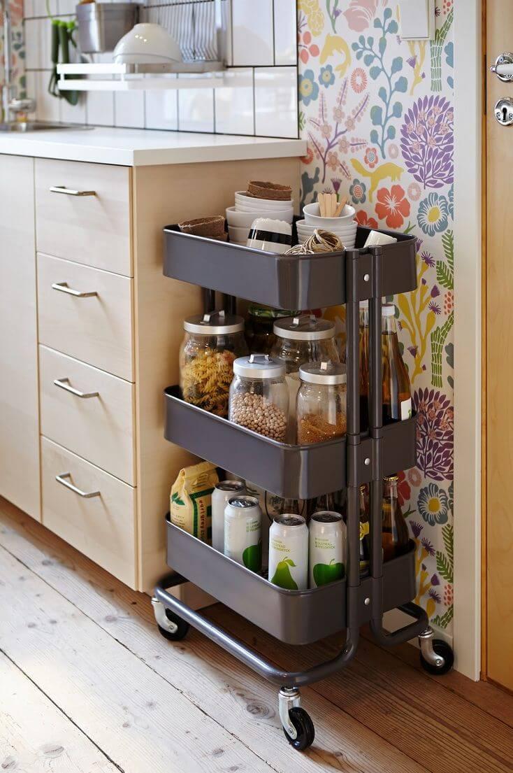 хранение кухонной утвари фото 10