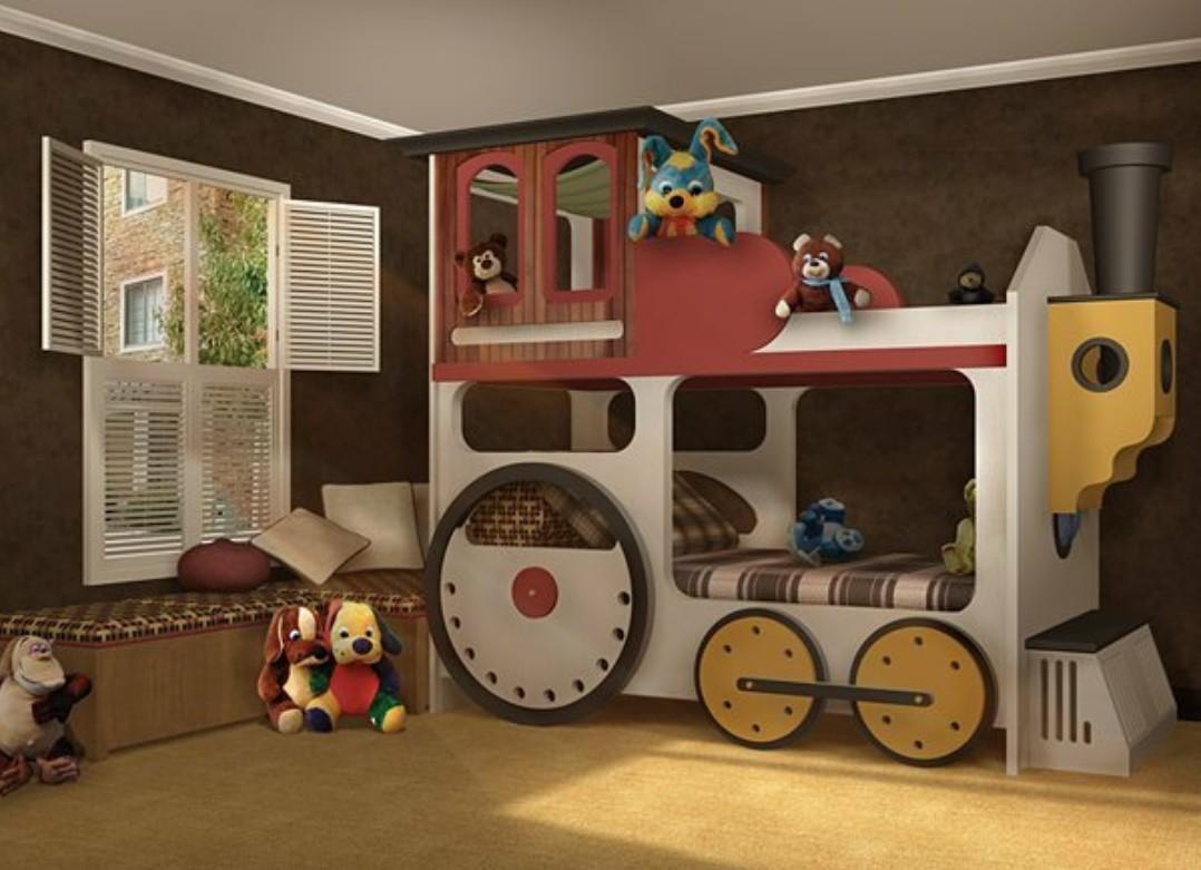 необычные детские комнаты фото 18
