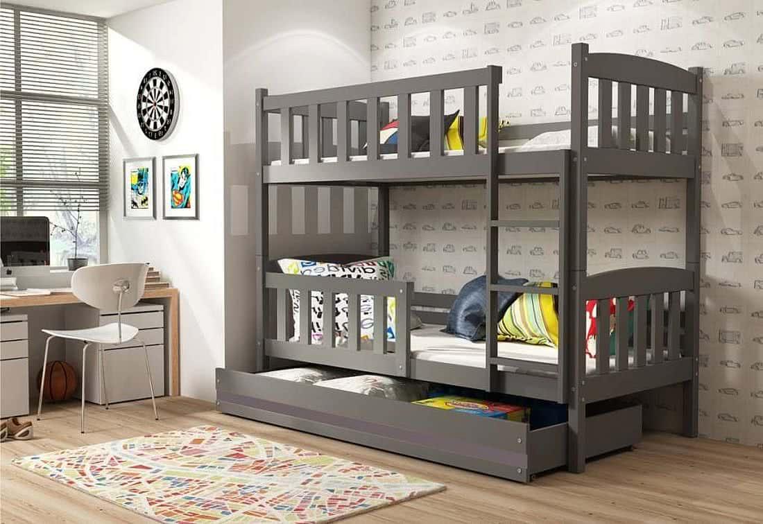 Комнаты для 3-х и более детей фото 19