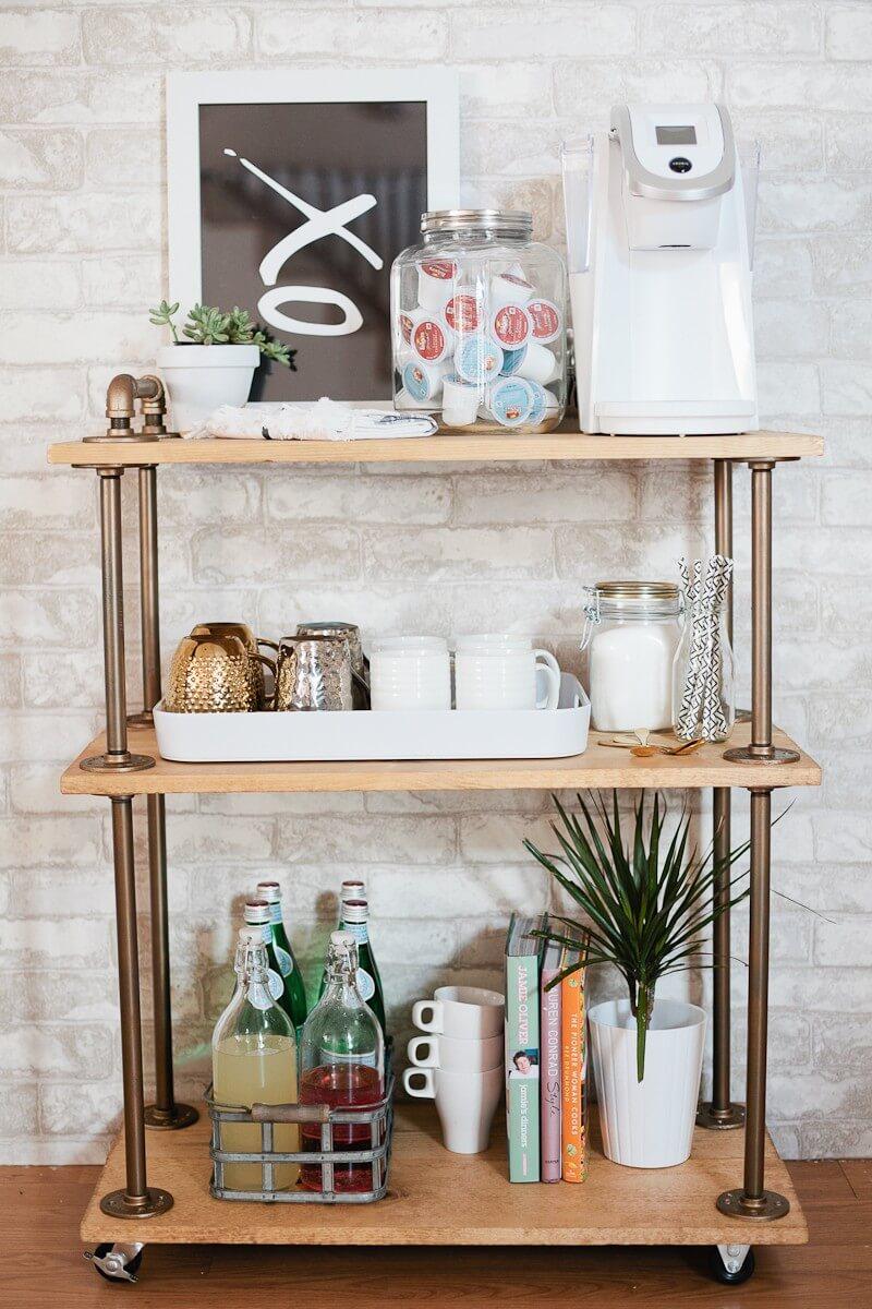 Кофе-бар: идеи создания кофейной станции дома фото 10
