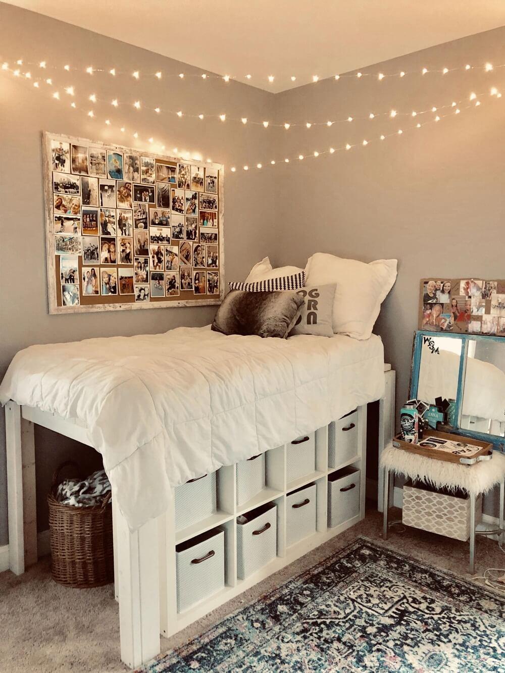 хранение вещей в спальне фото 13