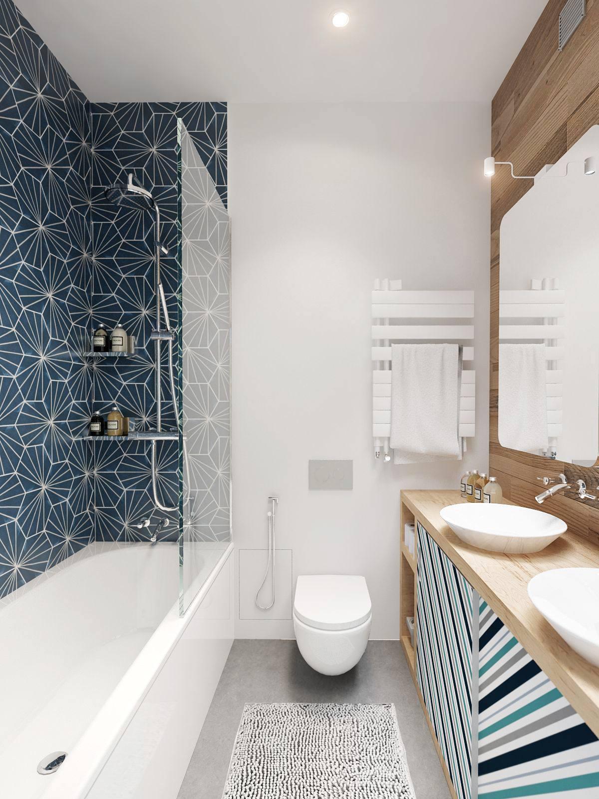 интерьер ванной комнаты фото 6