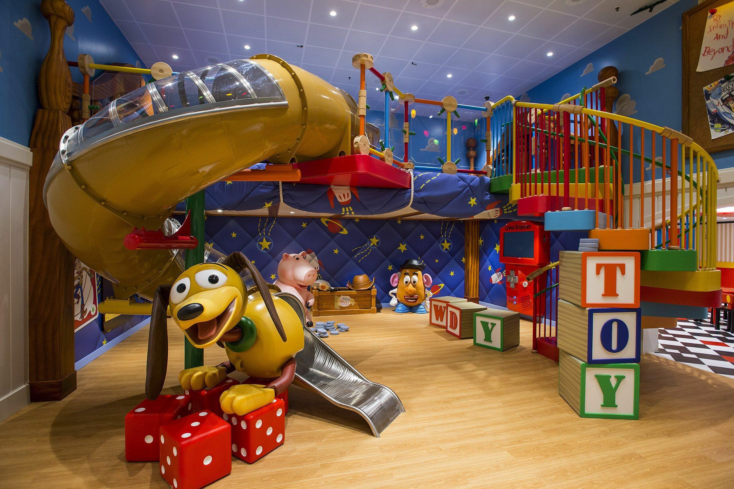 необычные детские комнаты фото 9