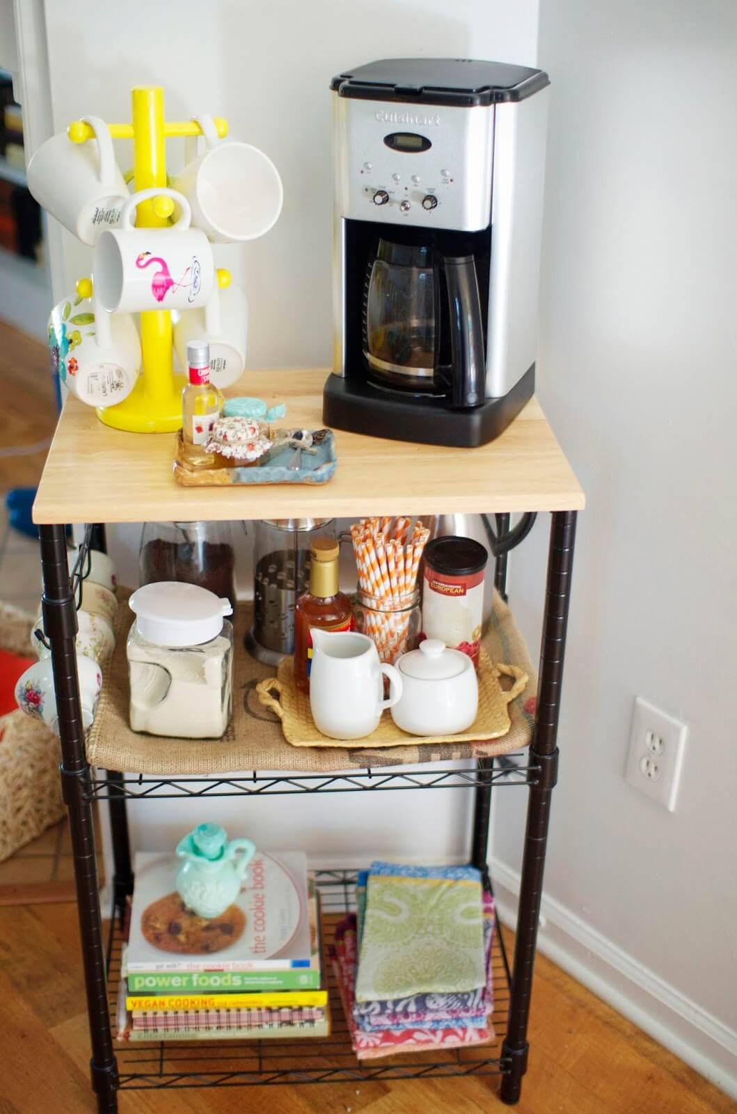Кофе-бар: идеи создания кофейной станции дома фото 4