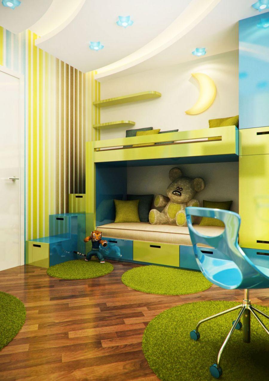 необычные детские комнаты фото 4
