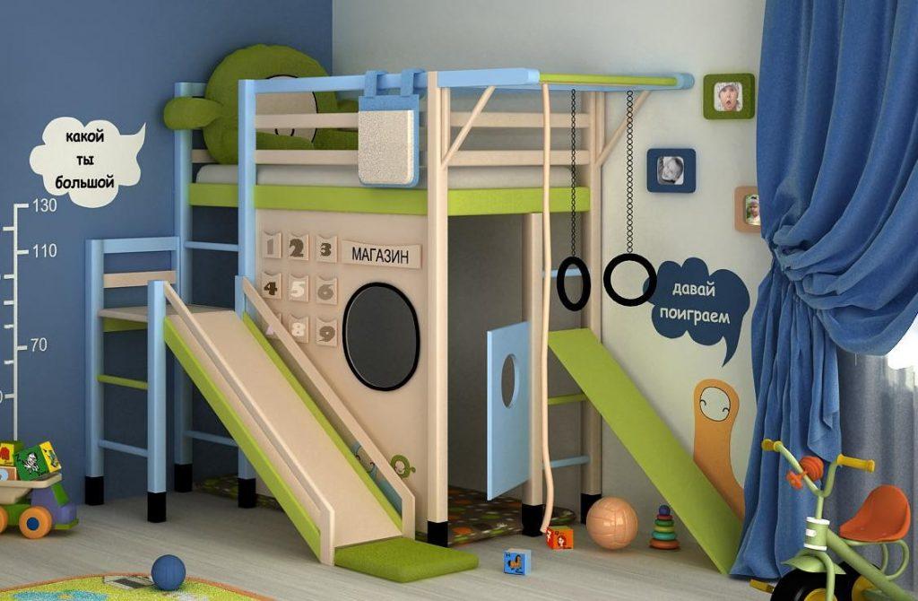 необычные детские комнаты фото 8