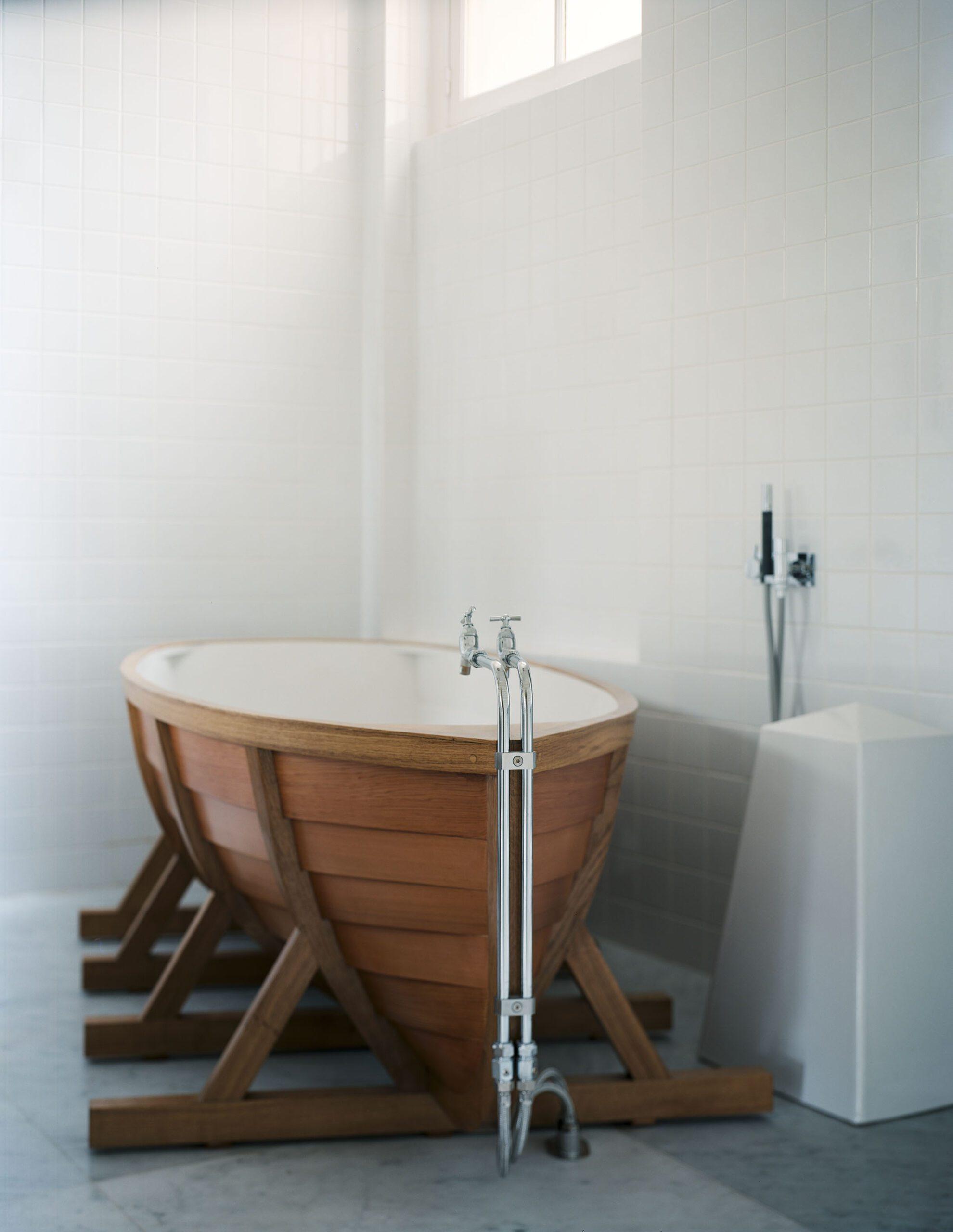 Оригинальные ванные фото 13