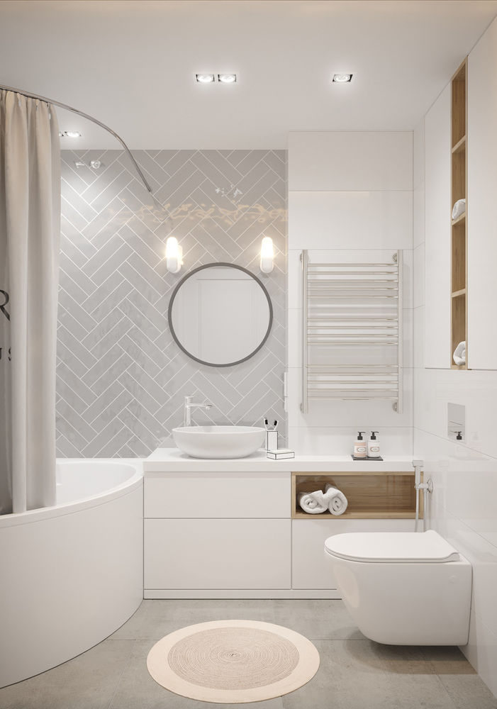 интерьер ванной комнаты фото 18