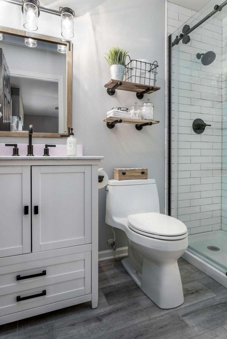 Способы преображения интерьера ванной комнаты фото 1