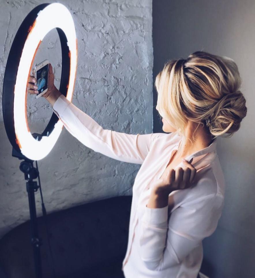 кольцевые лампы фото 1