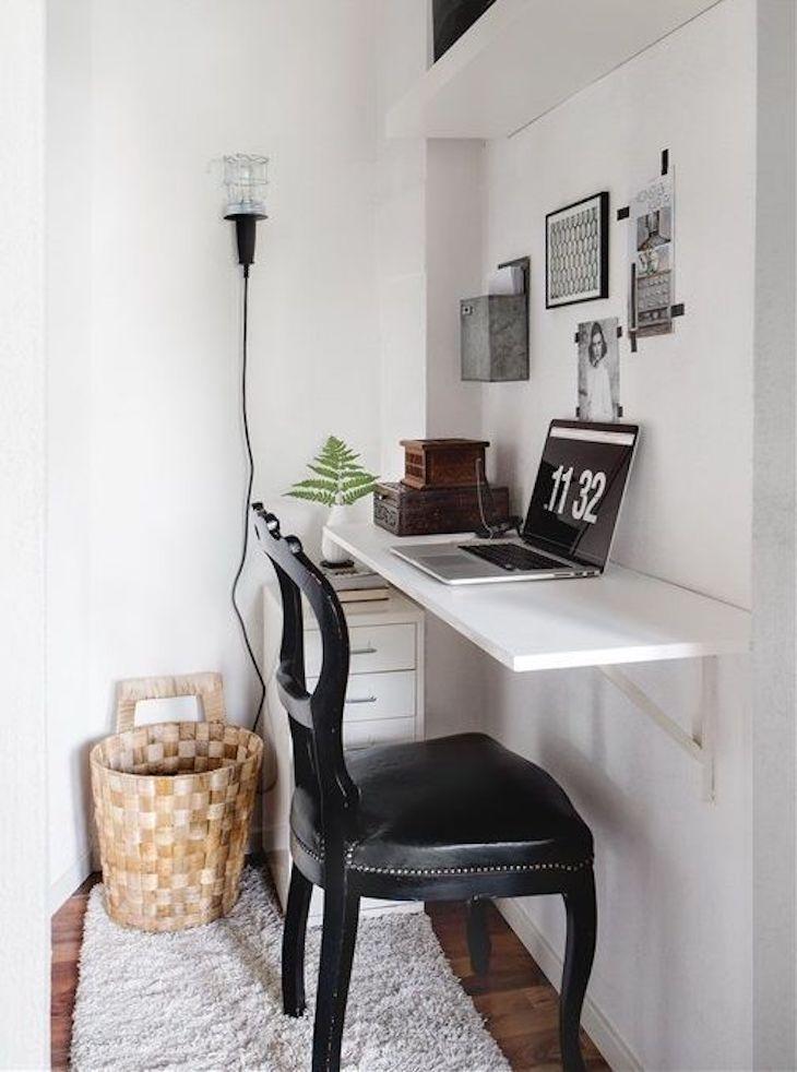 Рабочее место в маленькой квартире фото 1
