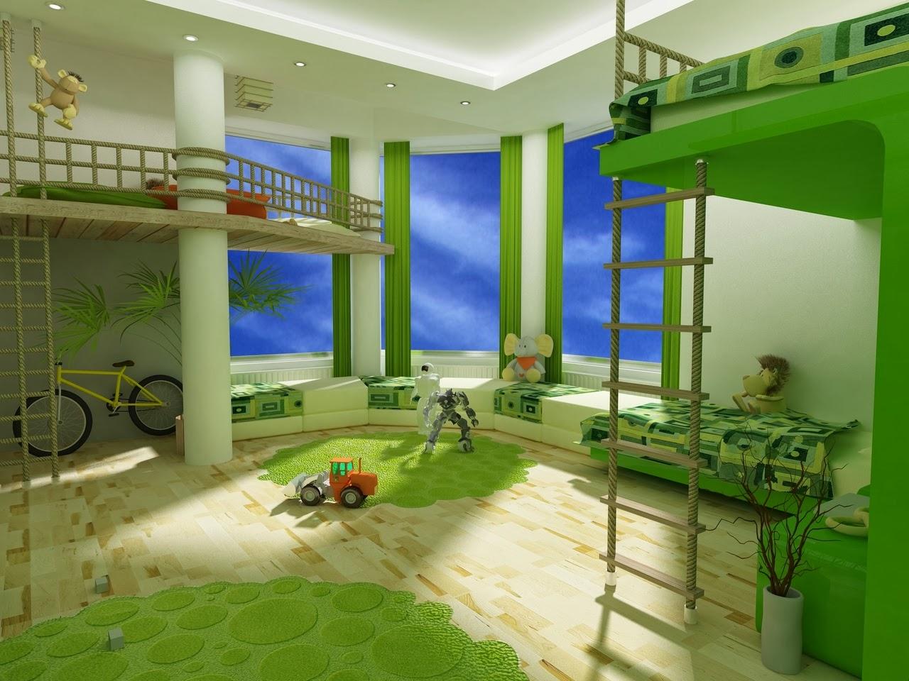 необычные детские комнаты фото 1