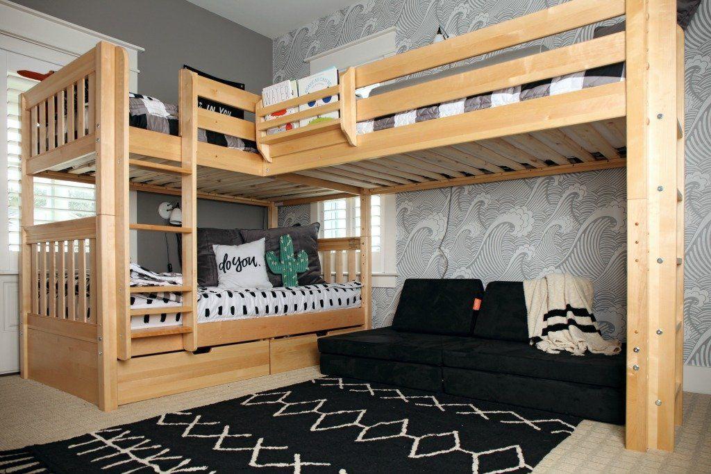 Комнаты для 3-х и более детей фото 4