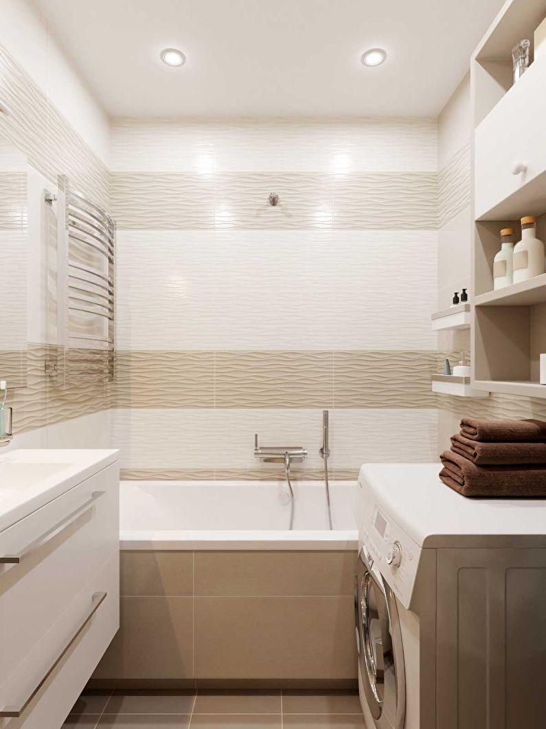 интерьер ванной комнаты фото 14