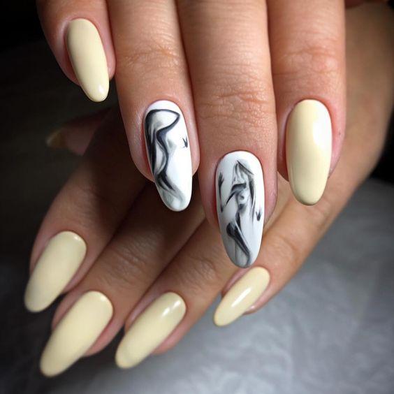 Девушка на ногтях фото 174