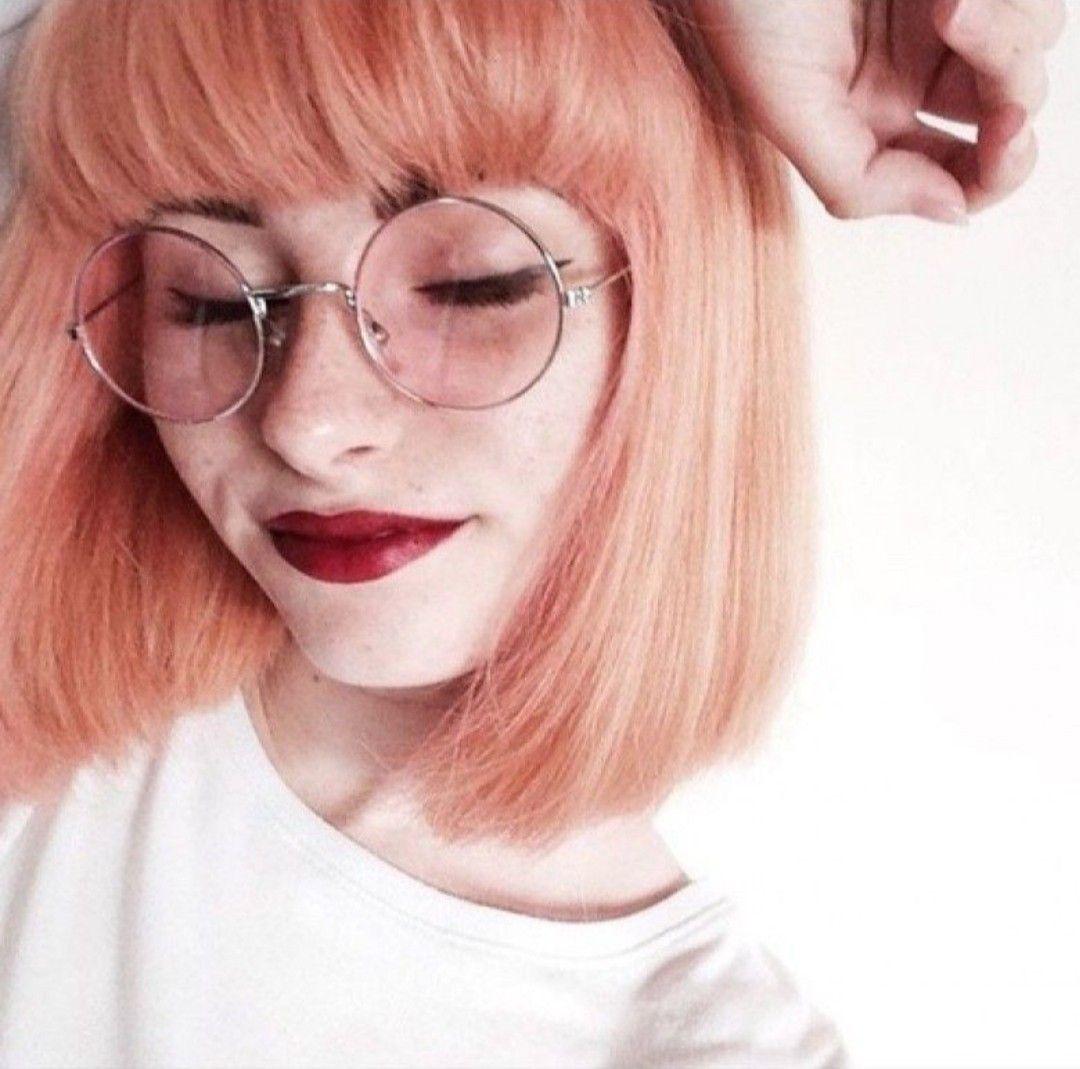 Персиковый оттенок волос фото 6