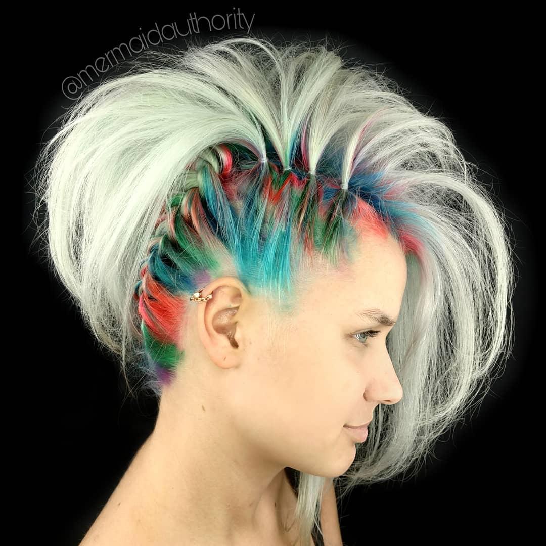 новогодние прически и укладки на короткие волосы 2020 фото 6