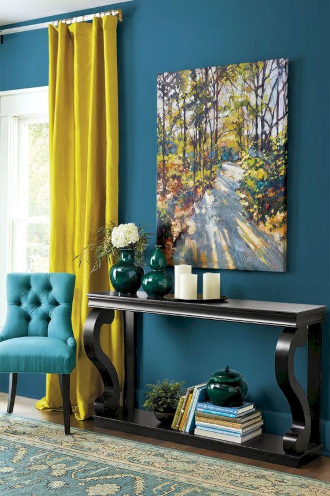 Грамотное сочетание цветов в интерьере фото 25