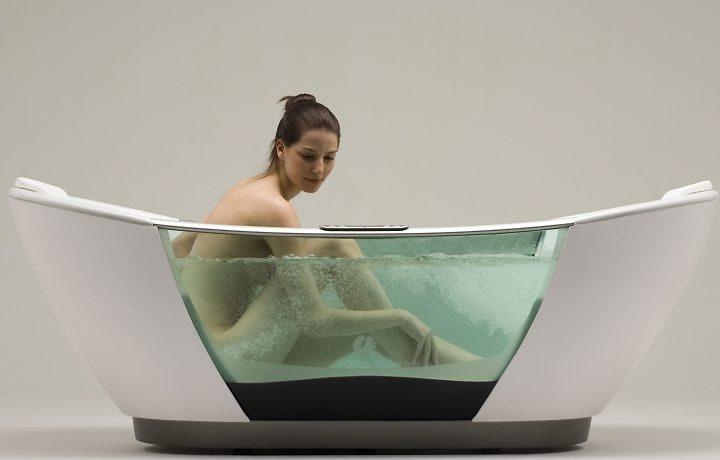 Оригинальные ванные фото 19