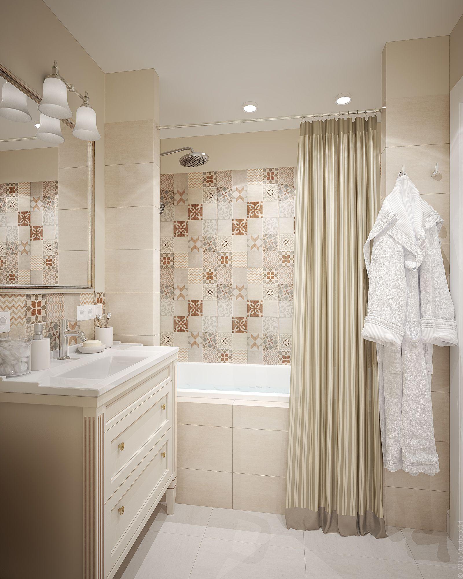 интерьер ванной комнаты фото 10