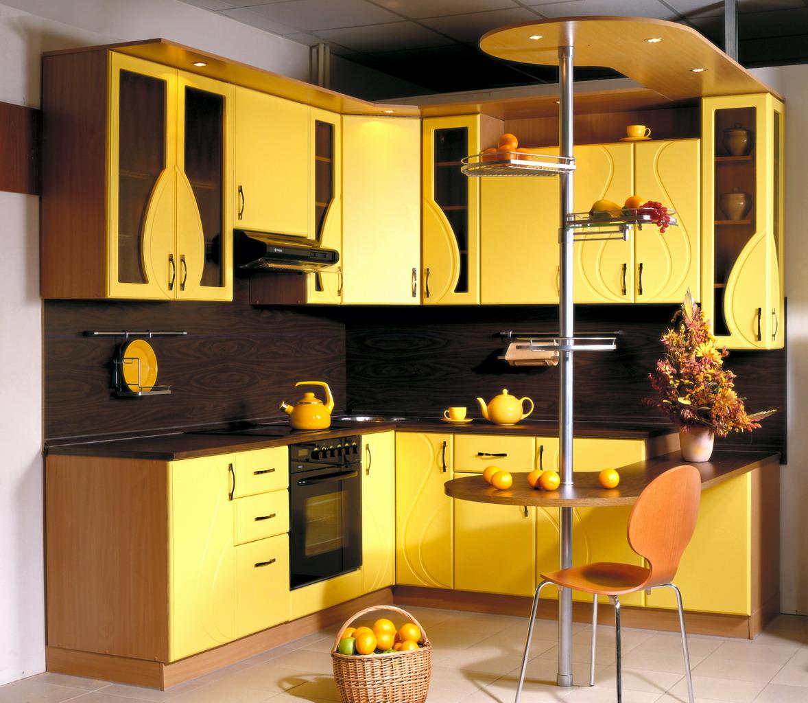 Жёлтый цвет в интерьере фото 10