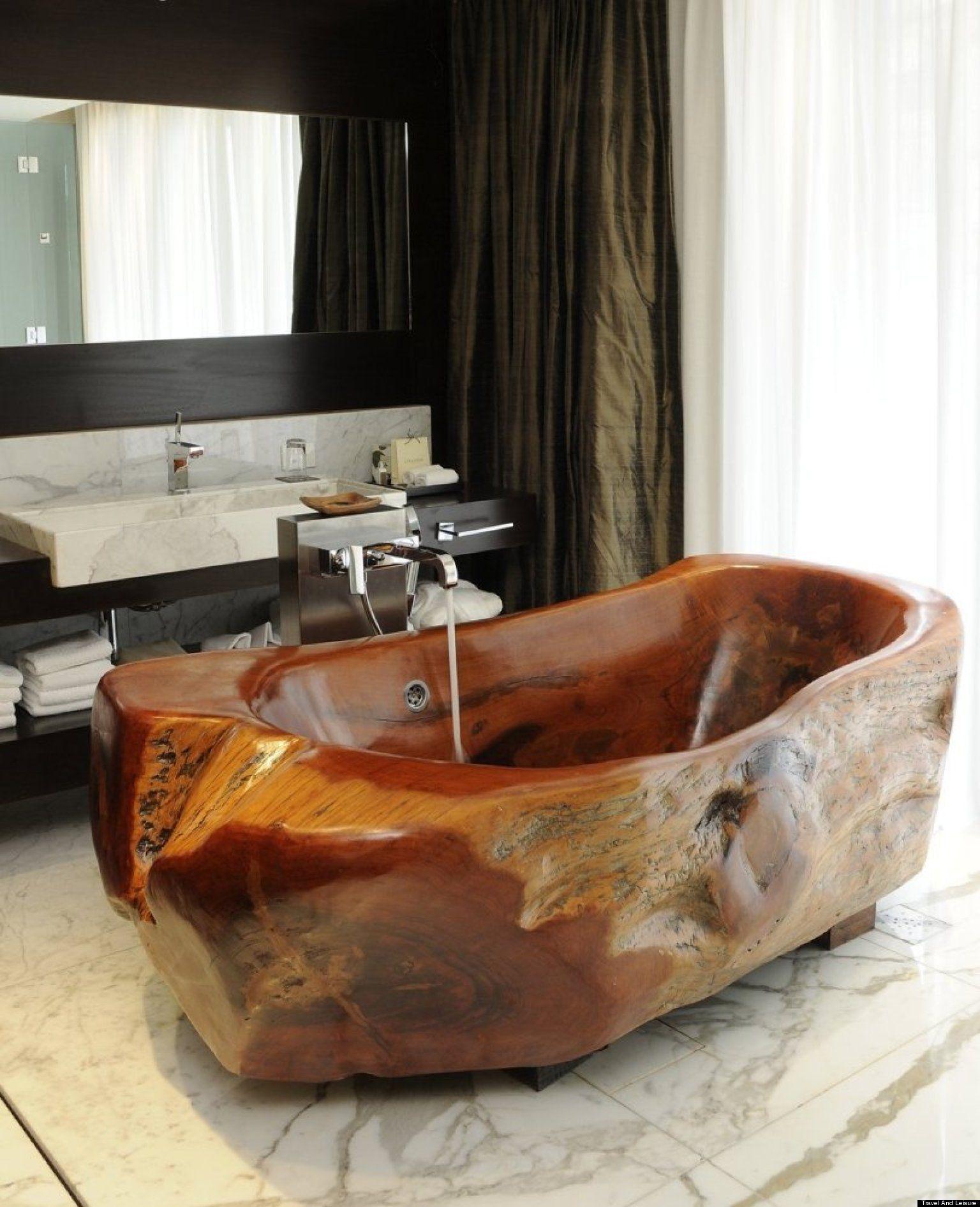 Оригинальные ванные фото 4