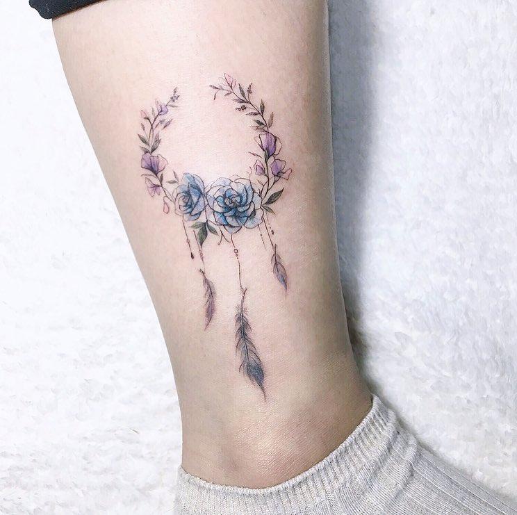 Татуировки на лодыжке фото 12