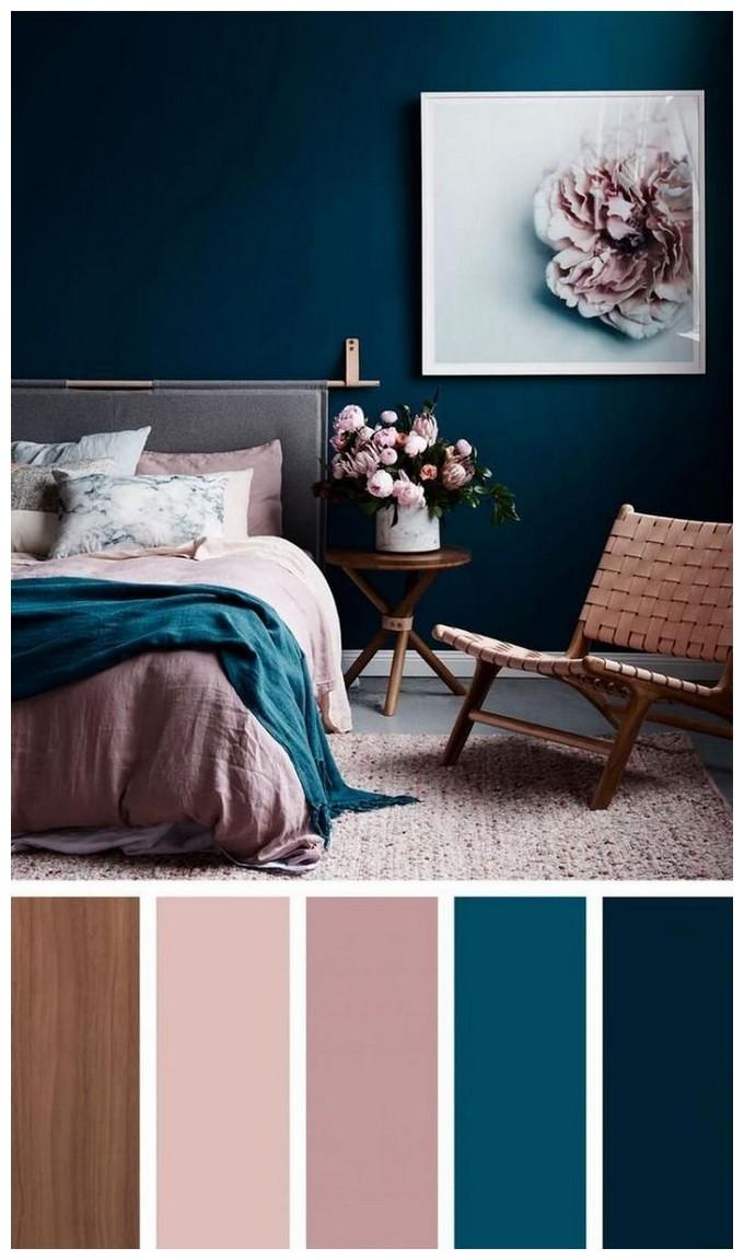 Грамотное сочетание цветов в интерьере фото 1
