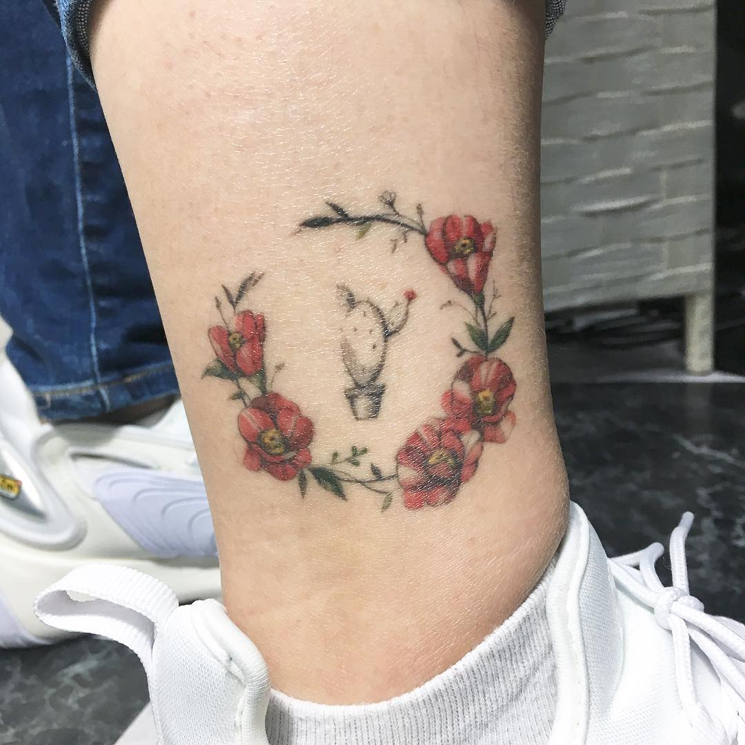 Татуировки на лодыжке фото 3