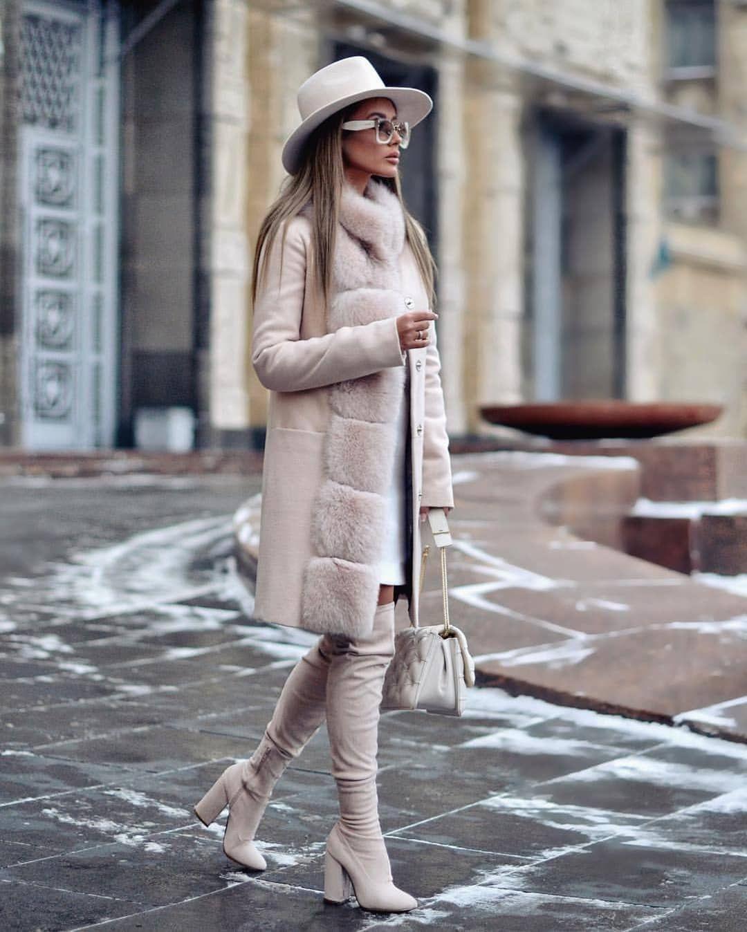Пальто зимнее с мехом 2020 фото 1