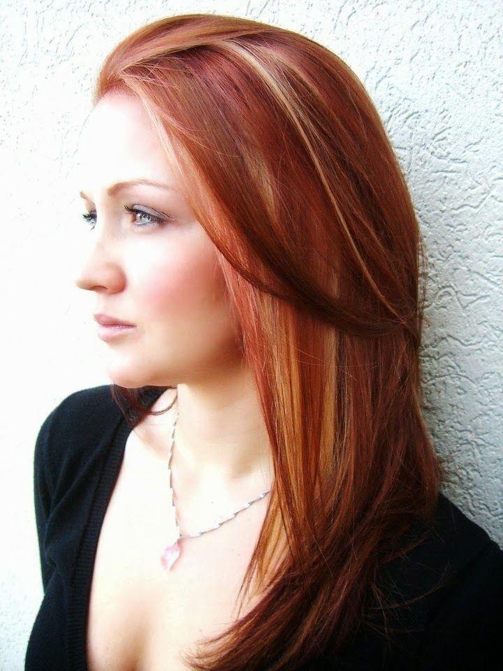 Красные волосы на женщинах 40-50 лет фото 2
