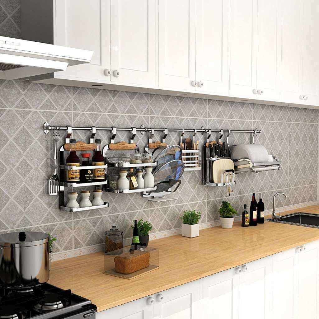 хранение кухонной утвари фото 5