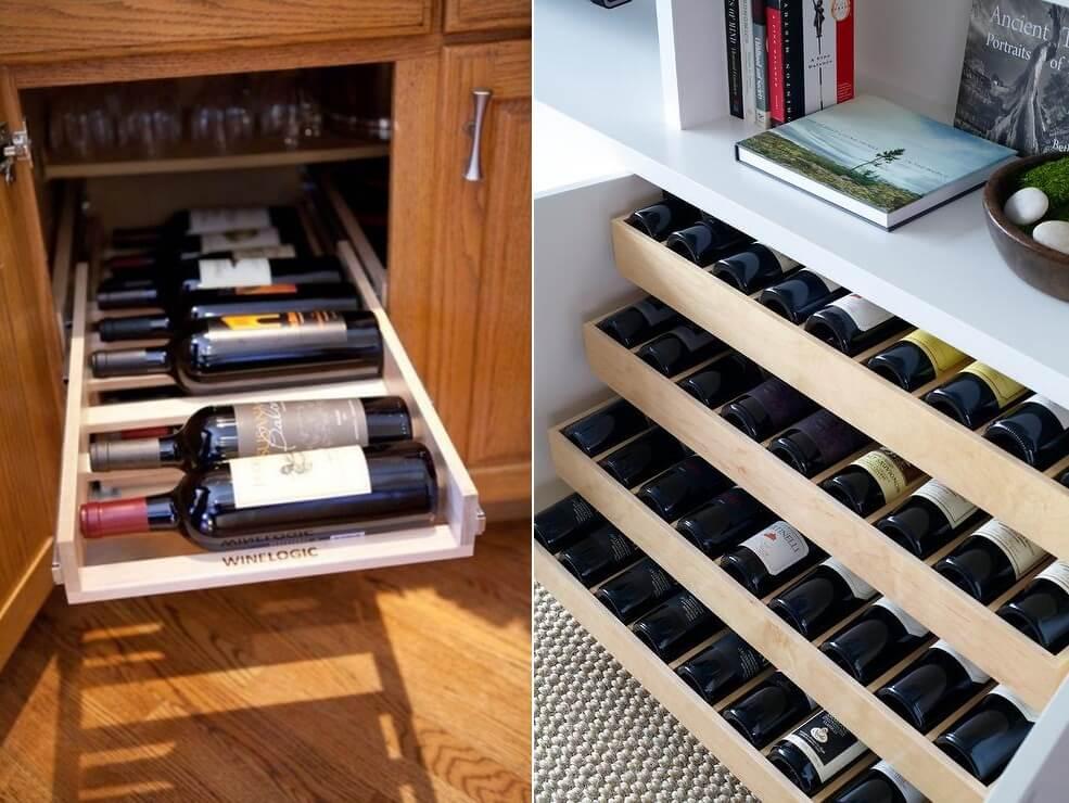 шкафы для хранения кухонной утвари фото 4