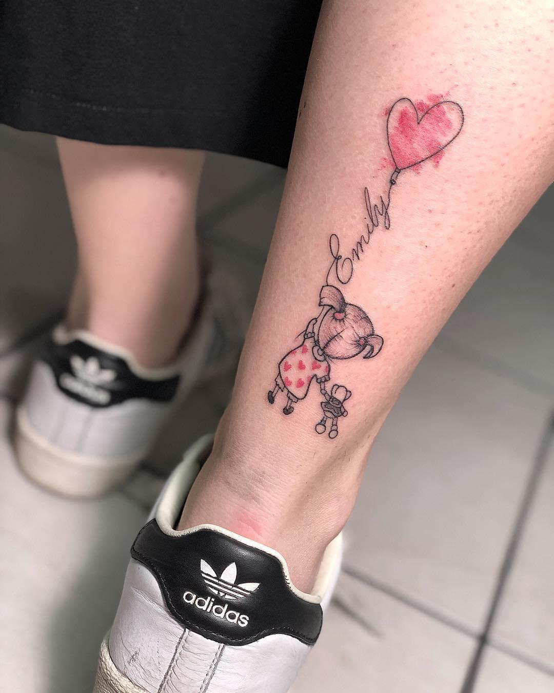 Татуировки в виде матери и ребёнка фото 26