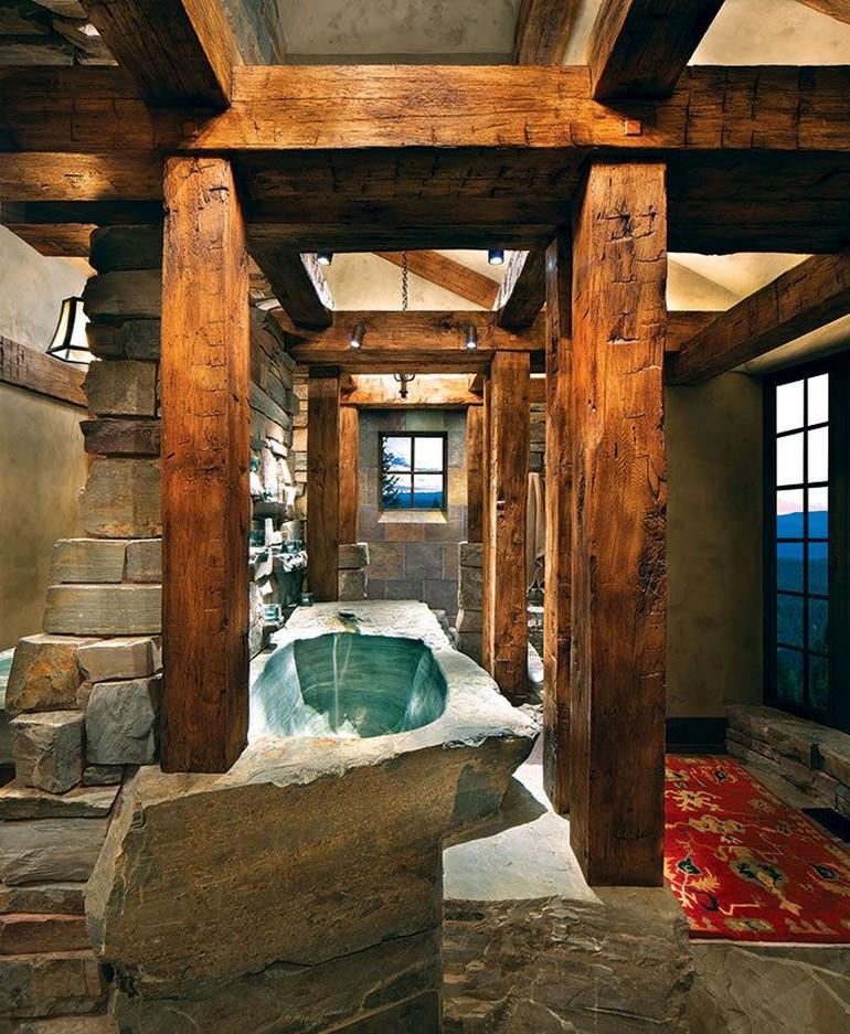 Оригинальные ванные фото 11