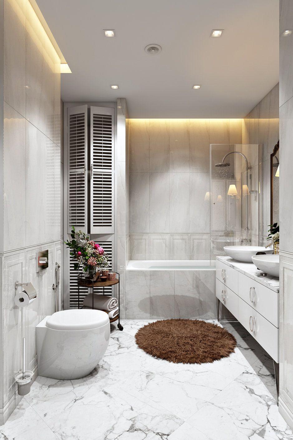 интерьер ванной комнаты фото 17