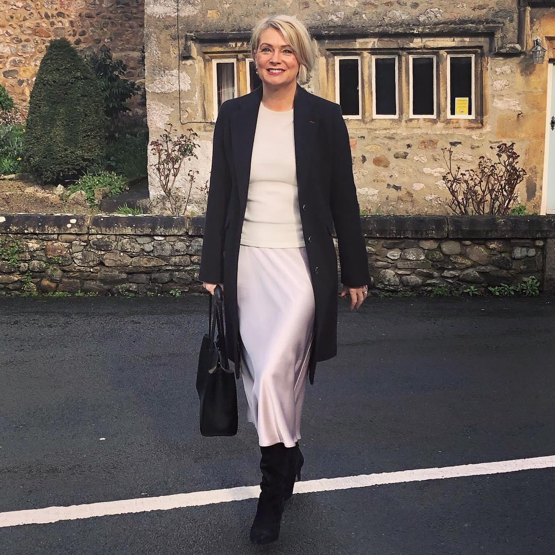 с чем носить пальто женщинам 40-50 лет фото 4