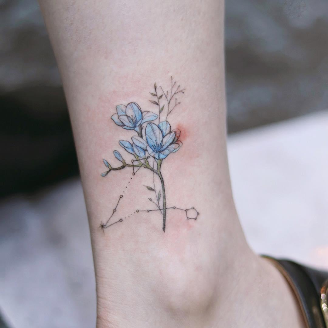 Татуировки на лодыжке фото 4