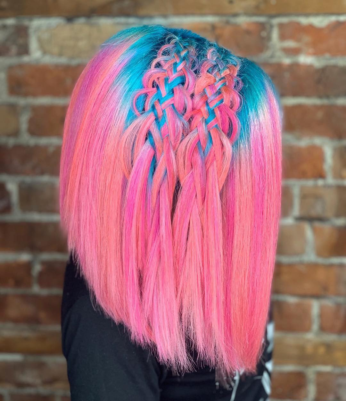 новогодние прически и укладки на короткие волосы 2020 фото 7