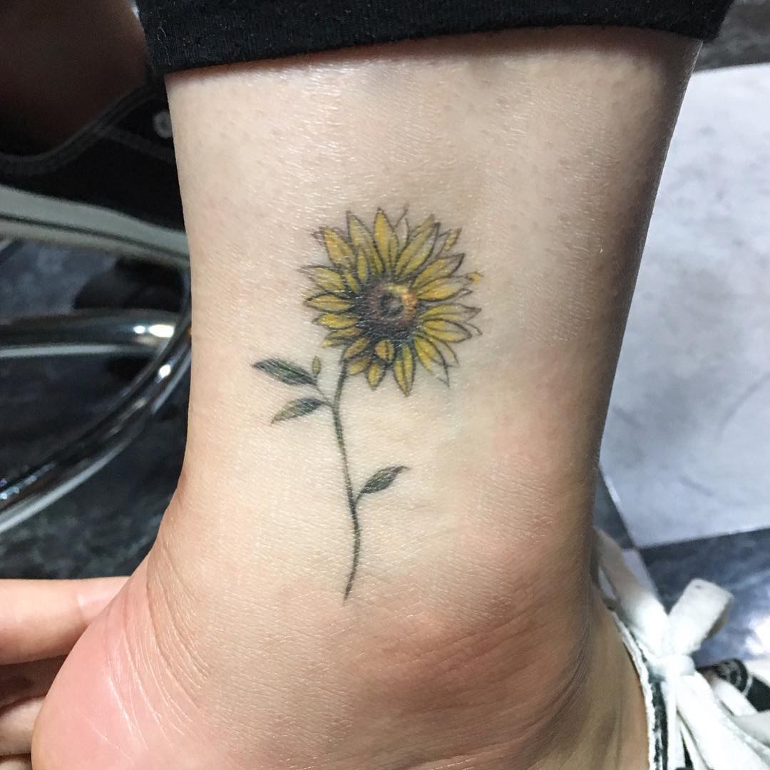 Татуировки на лодыжке фото 6
