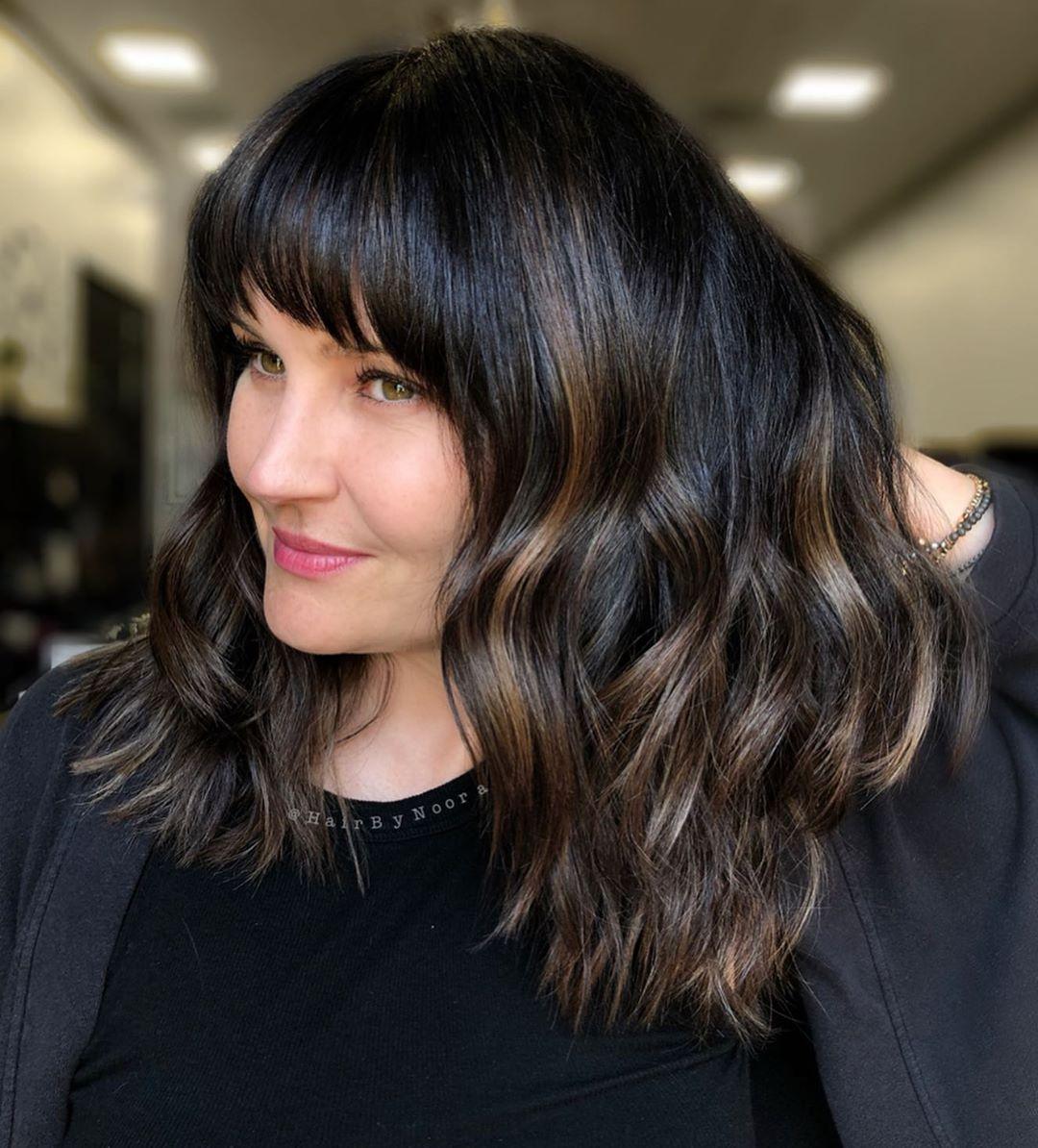 Стрижки после 50 лет на средние волосы 2020 фото 5