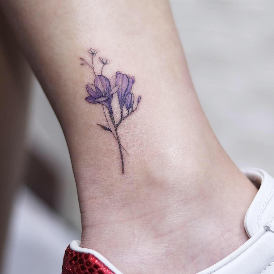 Татуировки на лодыжке фото 7