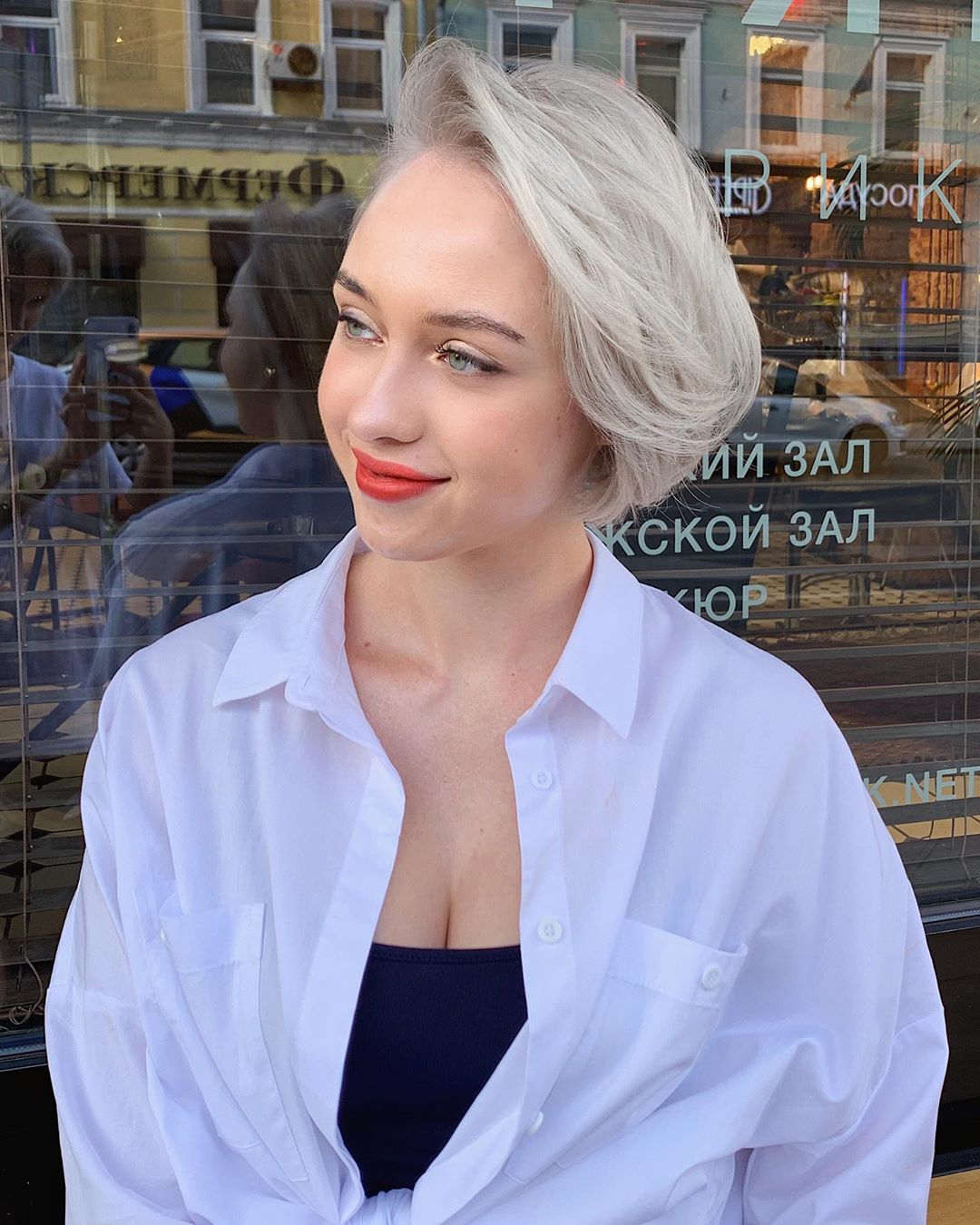 Стрижки на светлые волосы 2020 фото 25