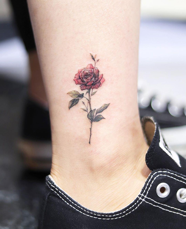 Татуировки на лодыжке фото 10