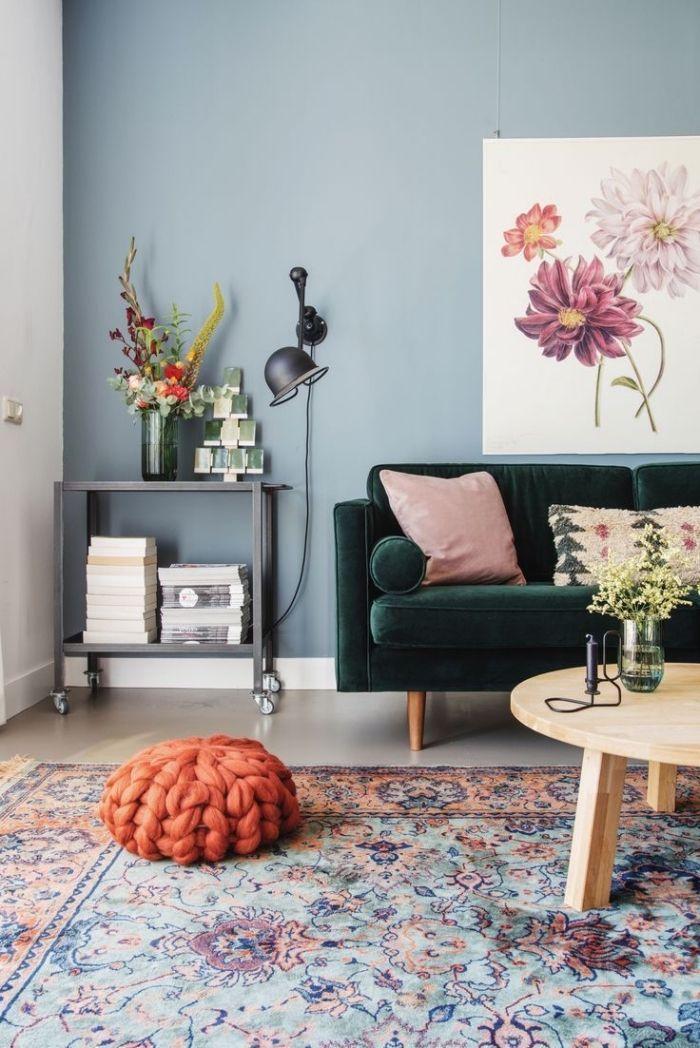 Грамотное сочетание цветов в интерьере фото 15