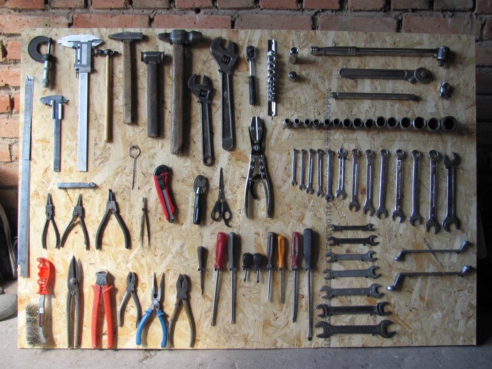 Организация инструментов фото 1