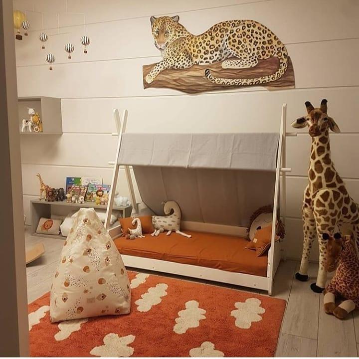 Дизайн интерьера детской комнаты фото 24